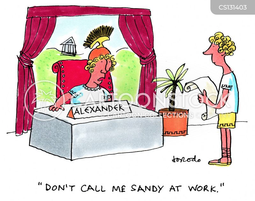 alexander cartoon