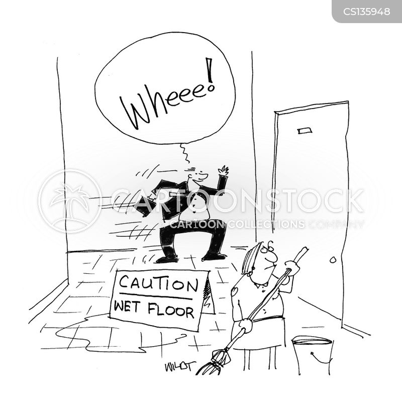 Wet Floor cartoons, Wet Floor cartoon, funny, Wet Floor picture, Wet Floor pictures, Wet Floor image, Wet Floor images, Wet Floor illustration, Wet Floor illustrations