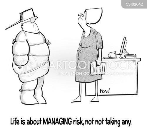 risk assessments cartoon