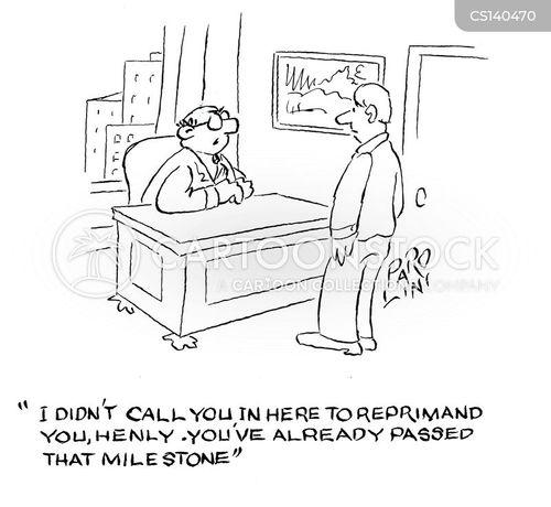 milestone cartoon