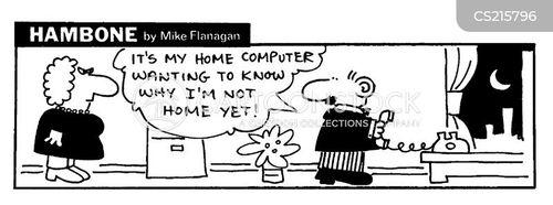 checking up cartoon