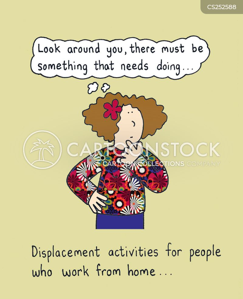 displacement cartoon