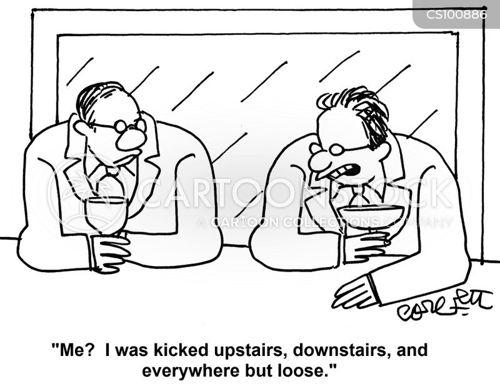 demotes cartoon