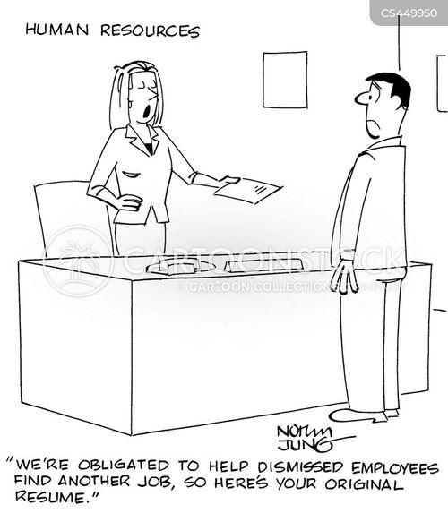 human resources department cartoon