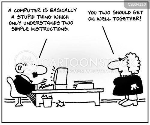 software developer cartoon