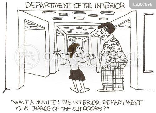 Interior Department Cartoon 2 Of 2