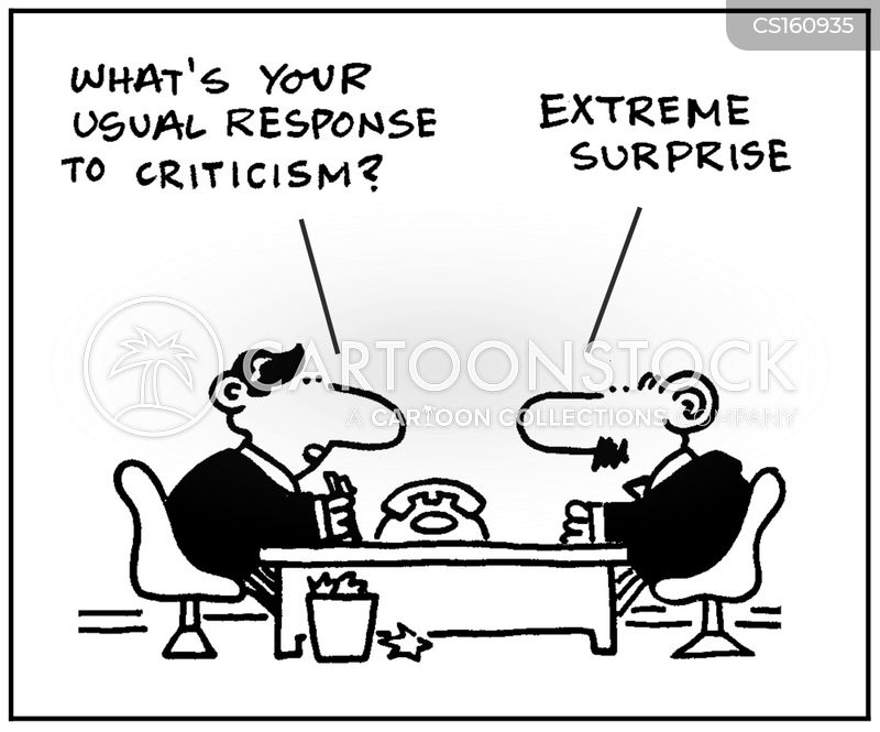 employee reviews cartoon