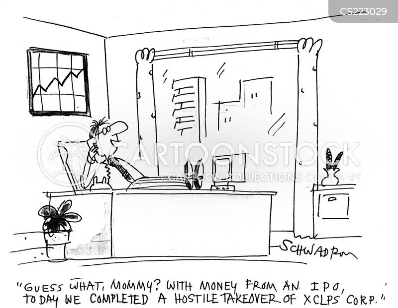 day at the office cartoon