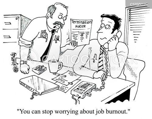 job burnout cartoon
