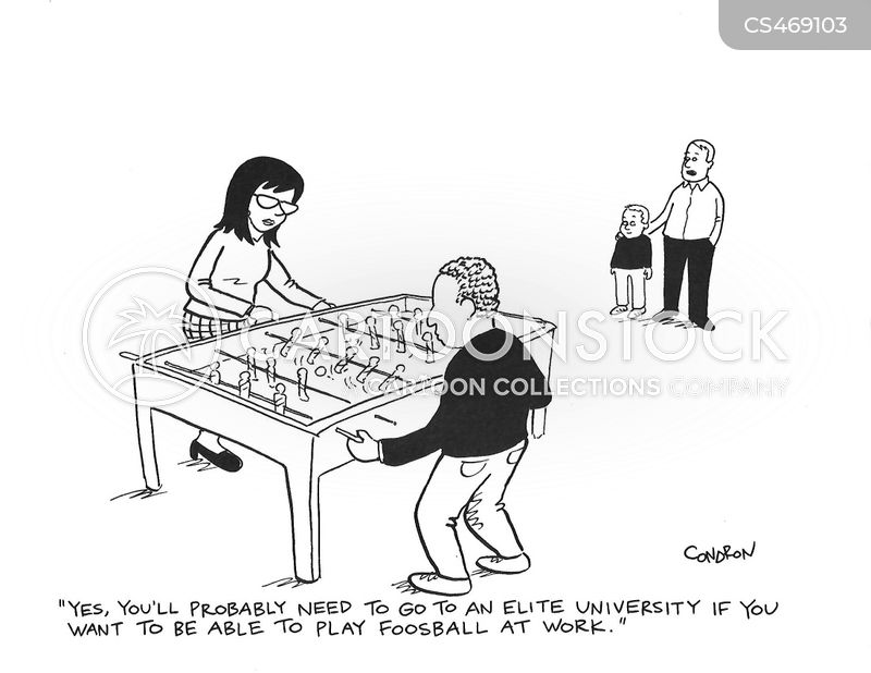 football table cartoon