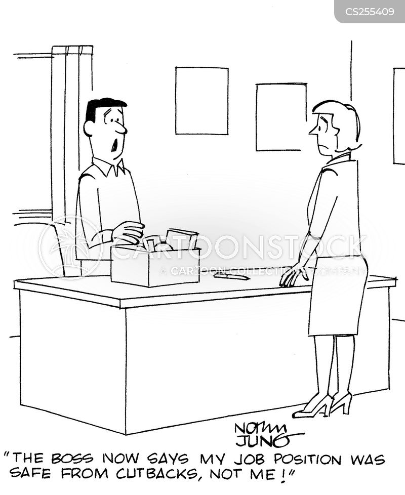 job positions cartoon