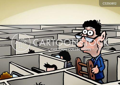 office-workers cartoon