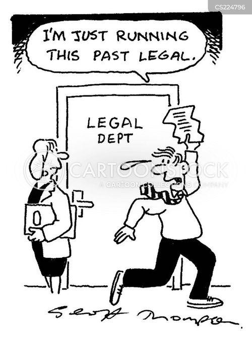legal dept cartoon