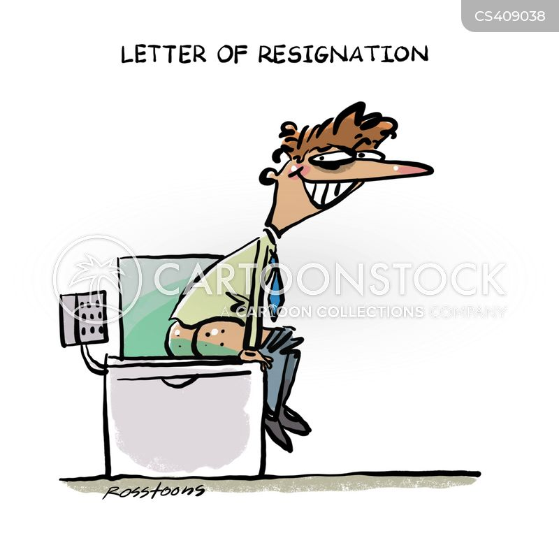 Letter of resignation cartoons and comics funny pictures from letter of resignation cartoon 2 of 3 spiritdancerdesigns Gallery