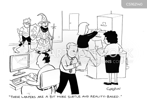 role-play cartoon