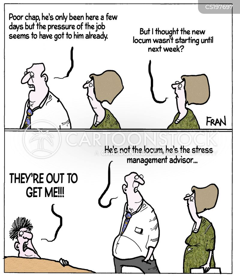 stress advisors cartoon