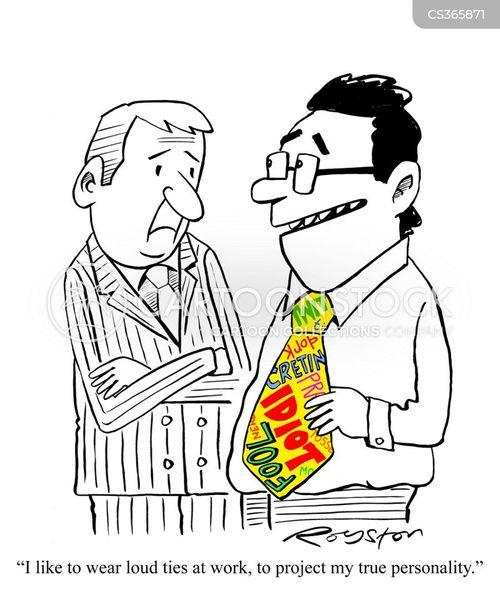 suit and tie cartoon