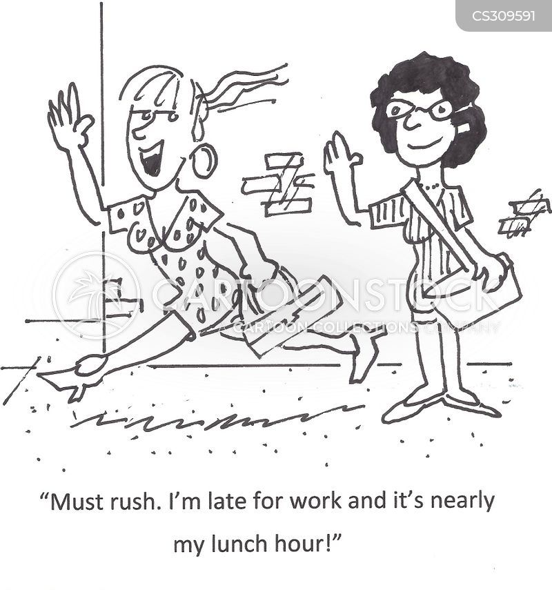 dinner hours cartoon
