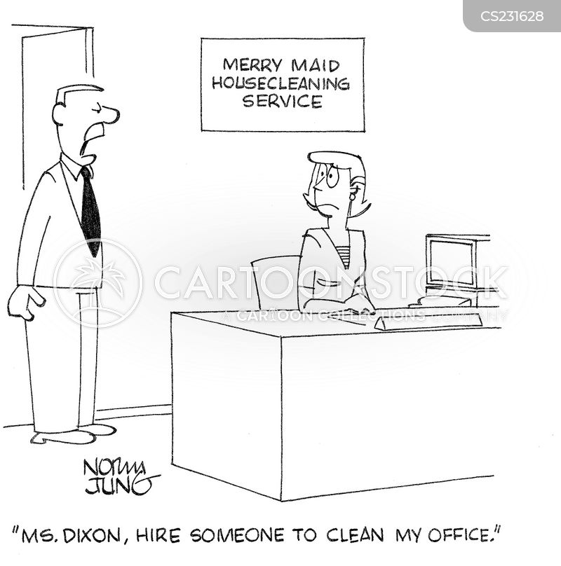 Maid Services Cartoons And Comics Funny Pictures From