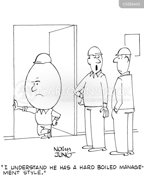 hard boiled egg cartoon