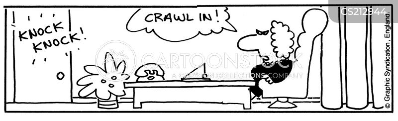 crawled cartoon