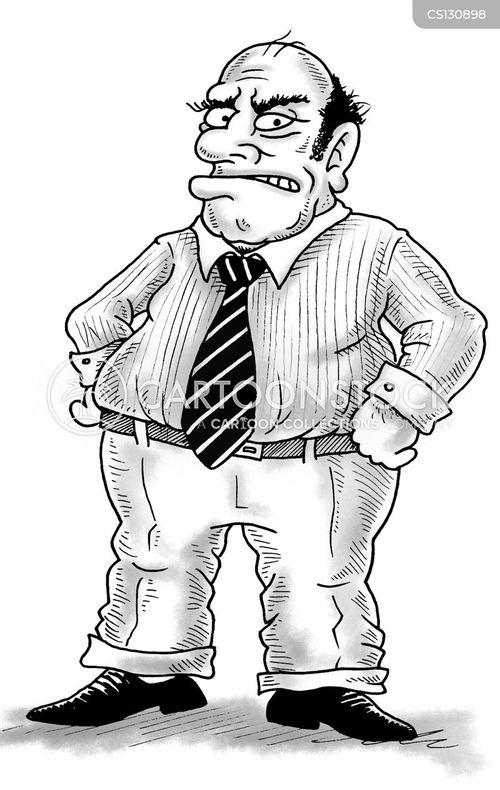 bossiness cartoon