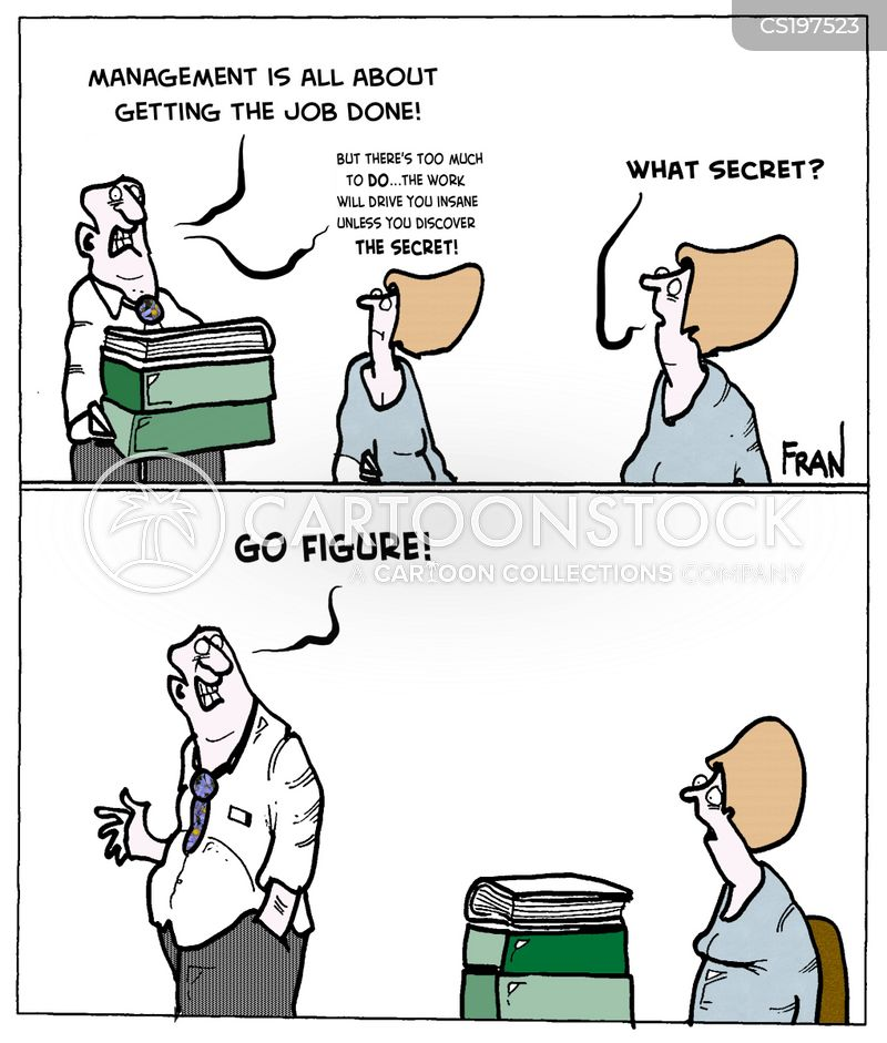 secret to success cartoon