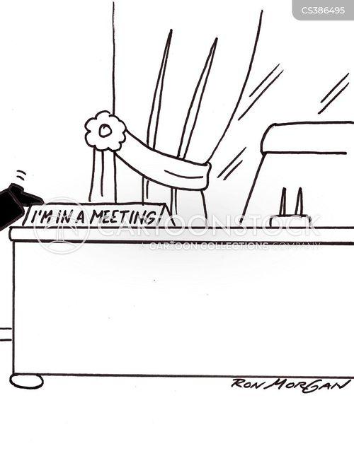 desk plate cartoon