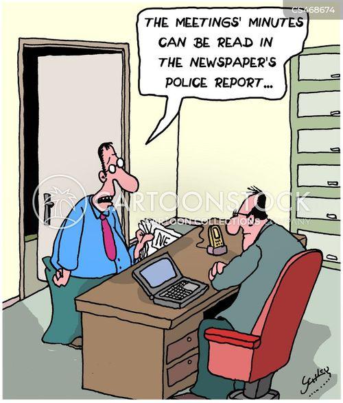 corporate crimes cartoon