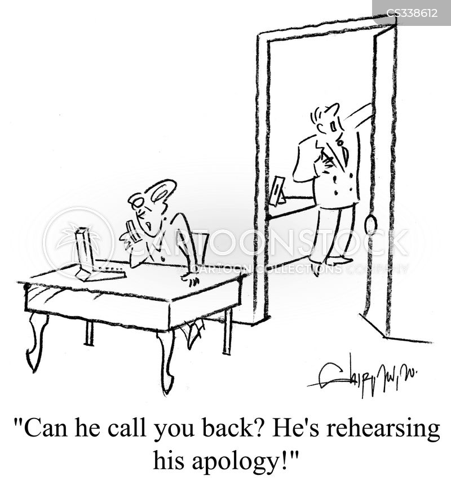 quarreling cartoon