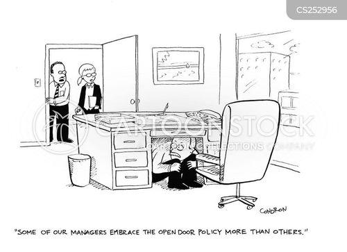 corporate policies cartoon