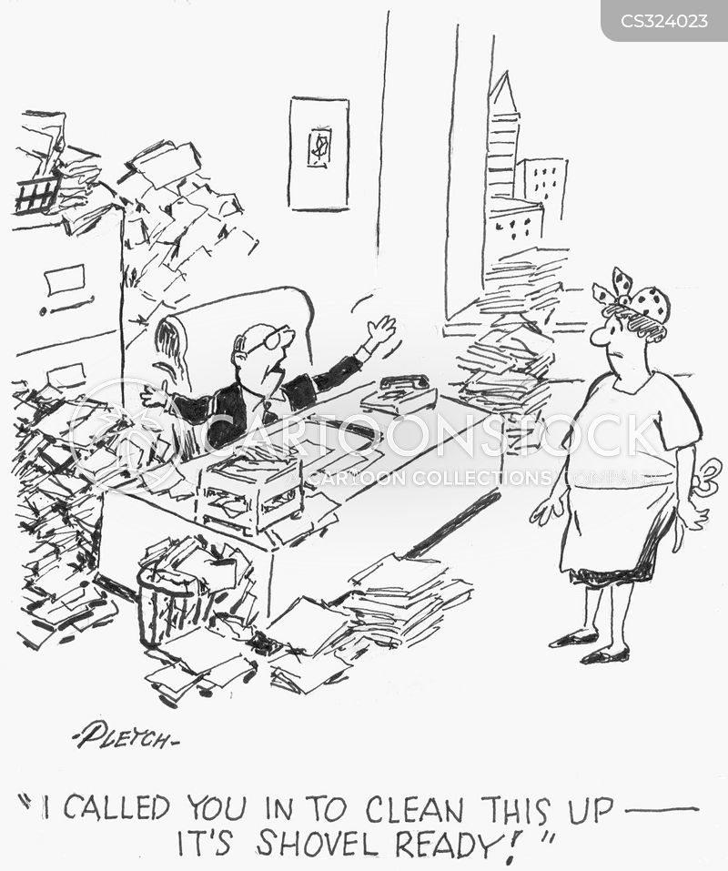 Office Cleaners Cartoons and Comics - funny pictures from ...