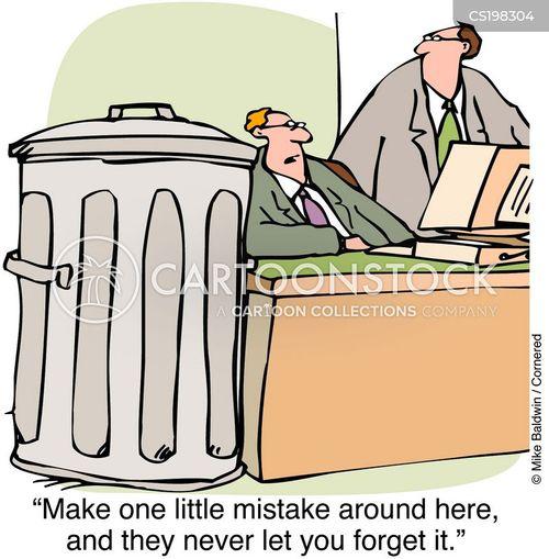 garbage bins cartoon