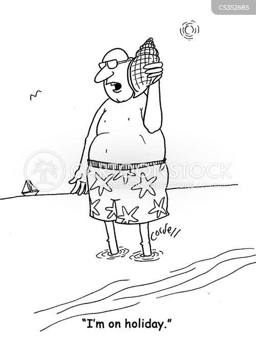 conch cartoon