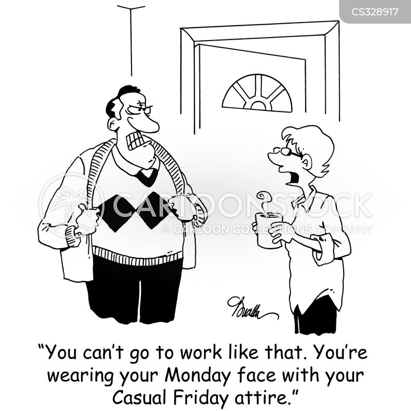 working weeks cartoon