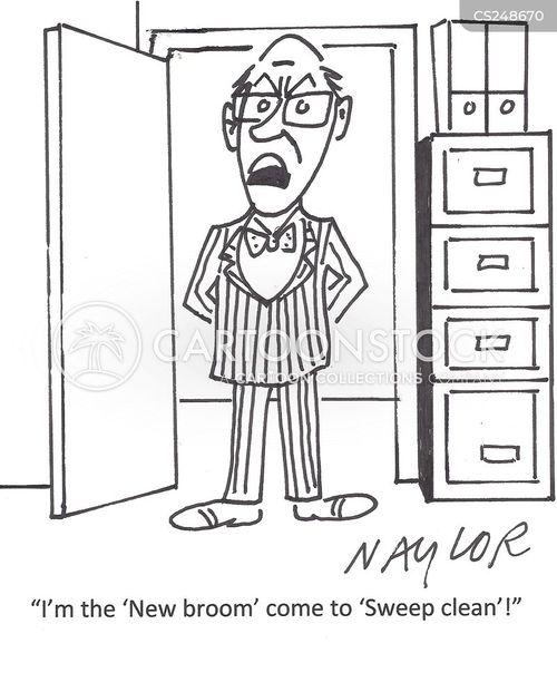 new bosses cartoon