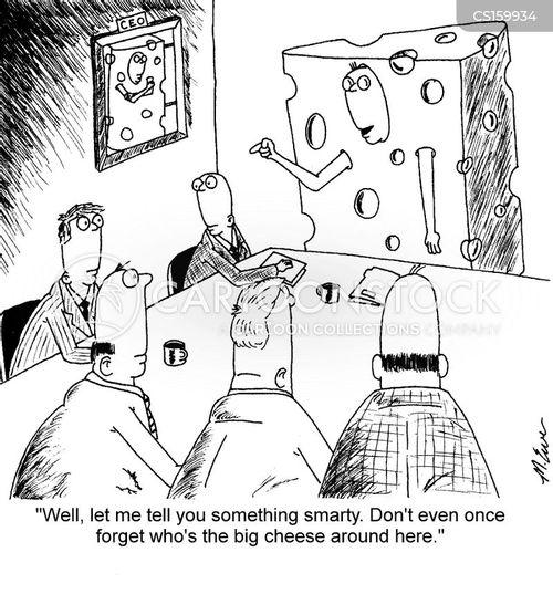 chief executive officer cartoon
