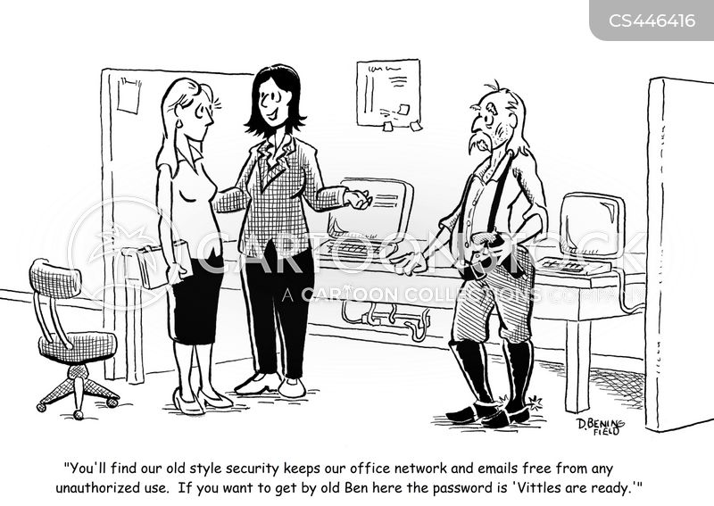 work email cartoon