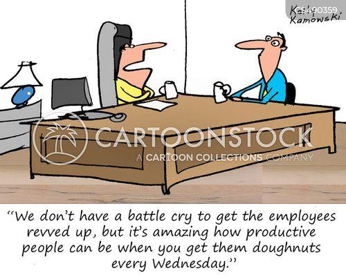 employee motivation cartoon