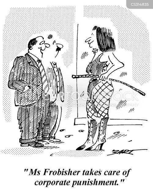 disciplinary cartoon