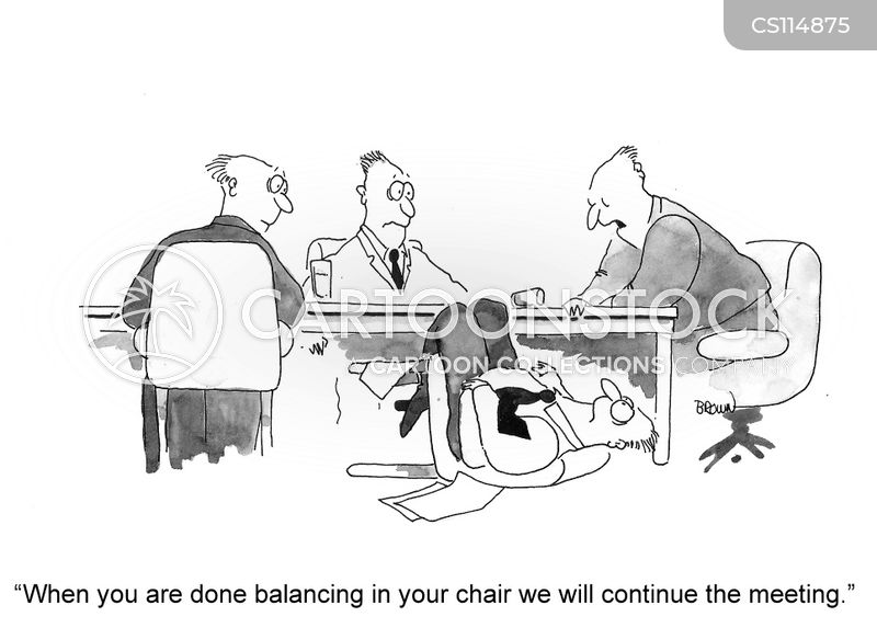 office chair cartoon