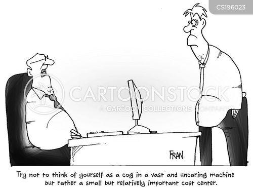 business culture cartoon