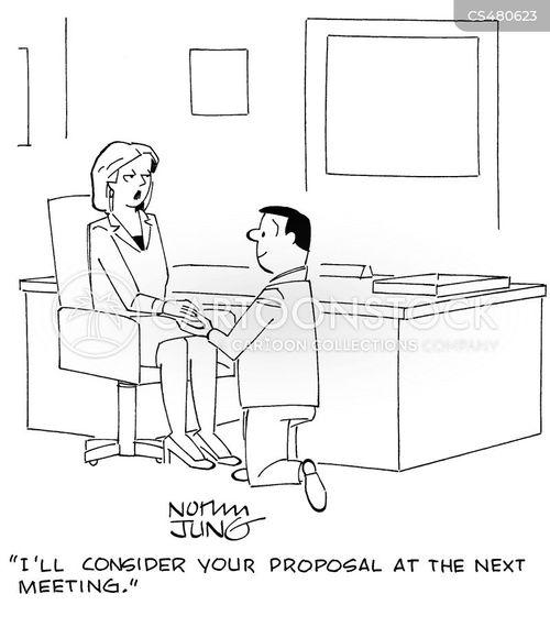 business arrangements cartoon