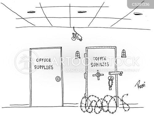 stationary cupboard cartoon