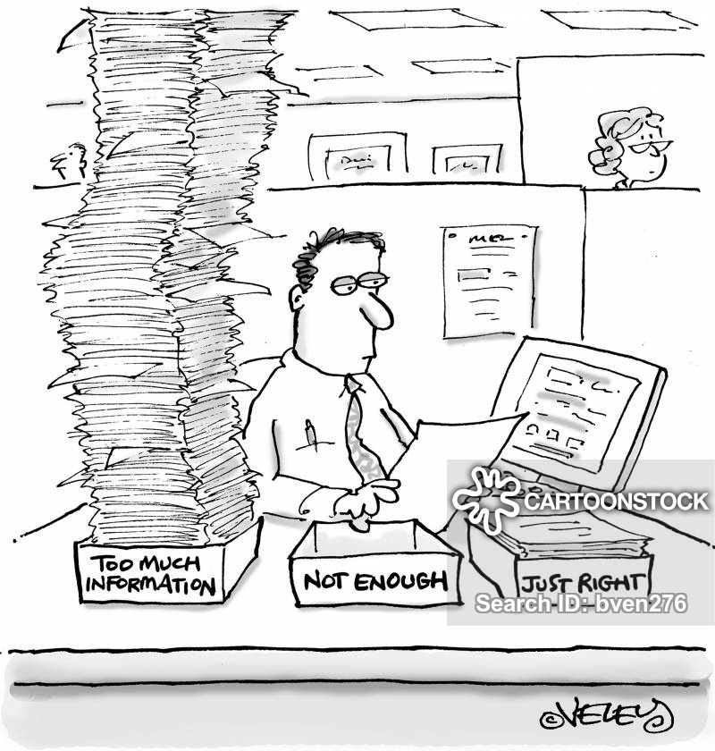 Information on research paper cartoon