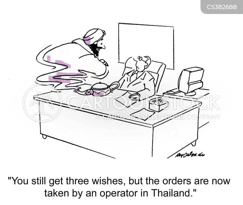 foreign call centres cartoon