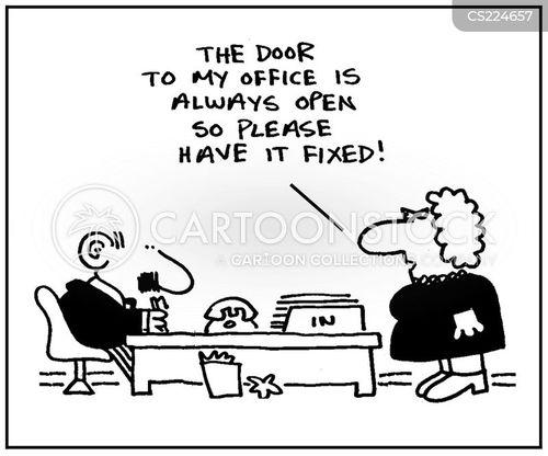 maintenance jobs cartoon