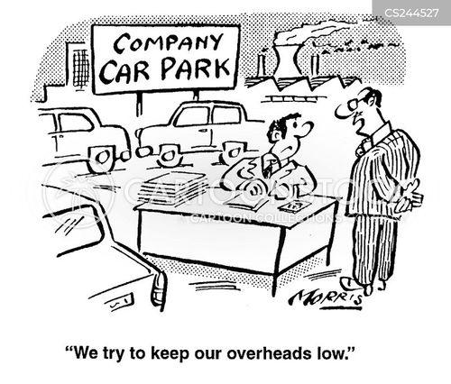overhead cartoon