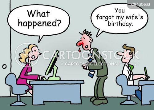 special occasion cartoon