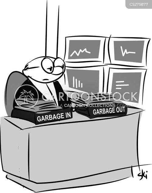 garbage men cartoon